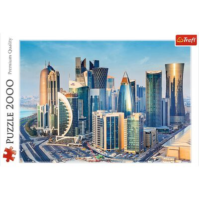 Doha Qatar 2000 Piece Jigsaw Puzzle image number 2