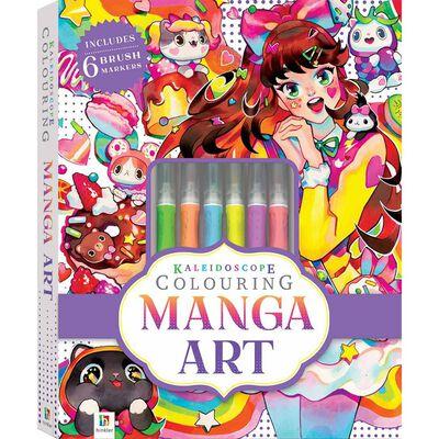 Kaleidoscope Colouring Kit: Manga Art image number 1