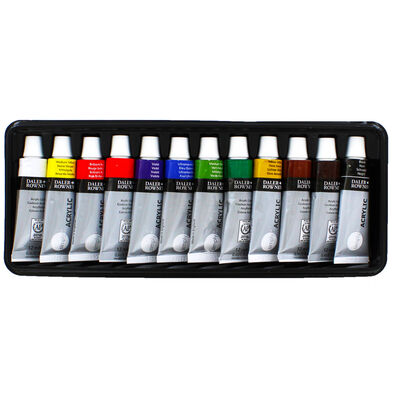 Simply Acrylic Paint Set - Pack of 12 image number 2