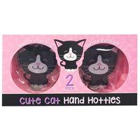 Cute Cat Hand Hotties: Pack of 2