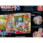 Wasgij Mystery 17 Catching a Break 1000 Piece Jigsaw Puzzle image number 2