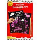 A4 Unicorn Scratch Art image number 1