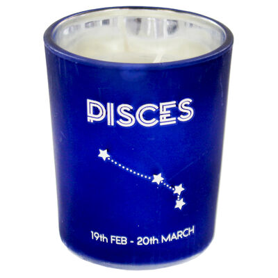 Zodiac Collection Pisces Fresh Vanilla Candle image number 2