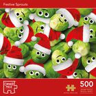 Festive Sprouts 500 Piece Jigsaw Puzzle image number 1