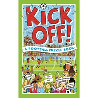 Kick Off Football Puzzle Book