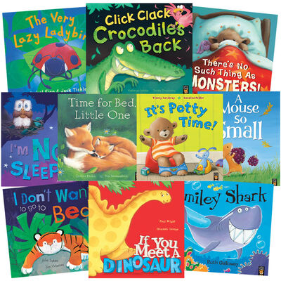 Not Sleepy: 10 Kids Picture Books Bundle image number 1