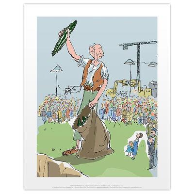Roald Dahl The BFG Crowd Print image number 1
