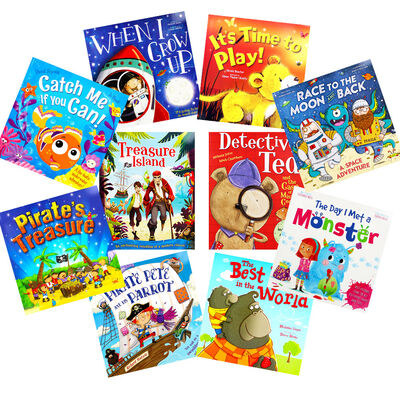Pirate Adventures: 10 Kids Picture Books Bundle image number 1