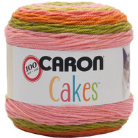 Caron Cakes Strawberry Kiwi Yarn - 200g