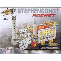 Metal Rocket Model Kit: 429 Pieces
