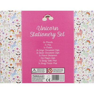 Unicorn Stationery Set image number 2