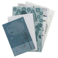 Winter Woodland 3D Decoupage Card Kit