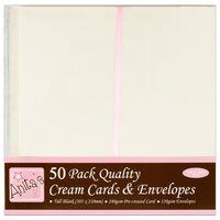 Anita's Tall Cream Cards & Envelopes: Pack of 50