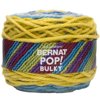 Bernat Pop Bulky Radiant Waves Yarn - 280g image number 1