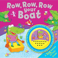 Row, Row, Row Your Boat Big Button Sound Book