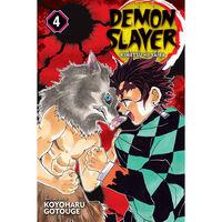 Demon Slayer: Kimetsu no Yaiba Volume 4