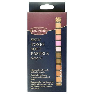 Boldmere Skin Tones Soft Pastels: Set of 12 image number 1