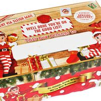 Personalise Christmas Elf Gift Box with Pen
