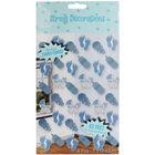 Blue Boy Baby Shower Hanging String Decorations image number 1