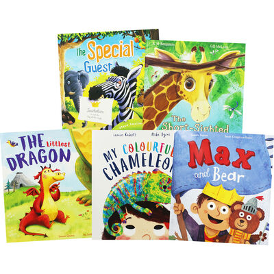 Zoo Animals: 10 Kids Picture Books Bundle image number 2