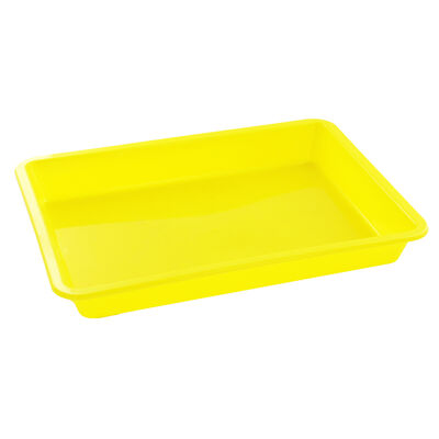 Coloured Plastic Craft Trays - 3 Pack image number 2
