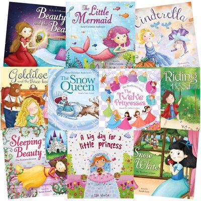 Magical Princess Bundle: 10 Kids Picture Books Bundle image number 1