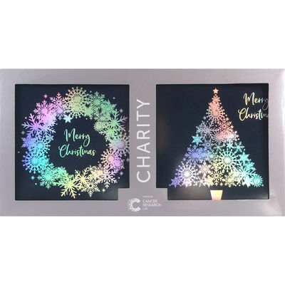 Cancer Research UK Charity Christmas Cards: Pack of 12 image number 1
