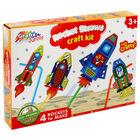 Rocket Straws Craft Kit image number 1