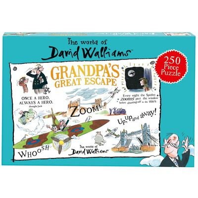 David Walliams Grandpa's Great Escape 250 Piece Jigsaw Puzzle image number 1