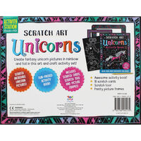 Scratch Art: Unicorns