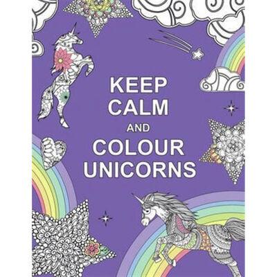 Keep Calm and Colour Unicorns image number 1