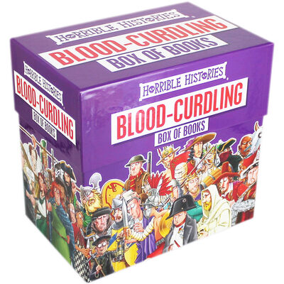 Horrible Histories: Blood Curdling Book Box image number 1
