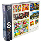 Family Jigsaw Puzzle Boxset - 8 Jigsaw Puzzles image number 1