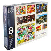 Family 8-in-1 Jigsaw Puzzle Boxset