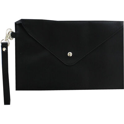 Black PU Pouch image number 1