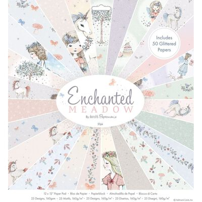 Enchanted Meadow Paper Pad 12x12 Inch image number 1