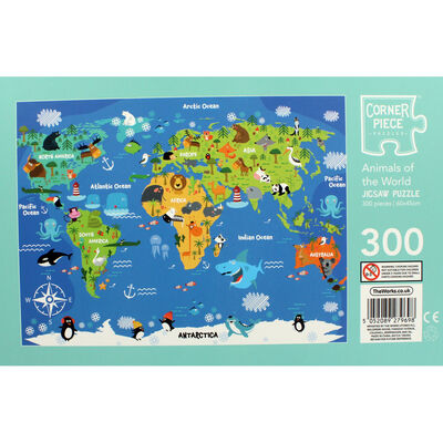 Animals of the World 300 Piece Jigsaw Puzzle image number 3