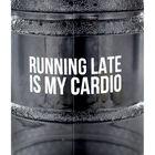 Black Running Late 1.8 Litre Water Bottle image number 4