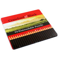 Crawford and Black Watersoluble Pencils - Set Of 24