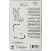 Crafters Companion Spring is in the Air Stamp and Die - Wellington Boot