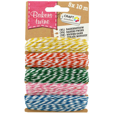 10m Bright Bakers Twine - 5 Pack image number 1
