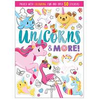 Unicorns & More Colouring Book