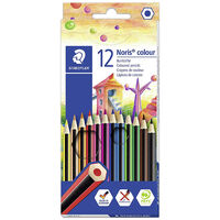 Staedtler Noris Colouring Pencils: Pack of 12
