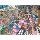 Wasgij Destiny 16 Old Time Rockers 1000 Piece Jigsaw Puzzle image number 2