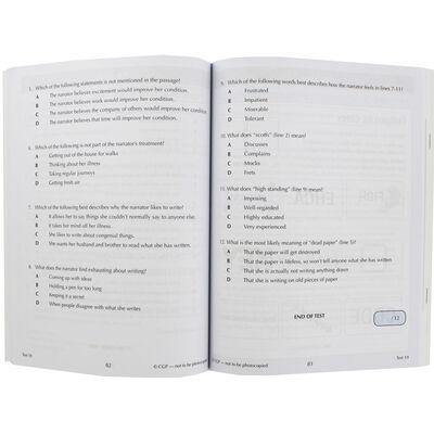 CGP 11+ Verbal Reasoning Comprehension: 10 Minute Tests image number 2