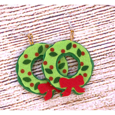 Felt Wreaths - 6 Pack image number 3
