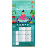 Mindfulness & Meditation 2022 Square Calendar
