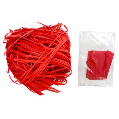Red Bow Cardboard Gift Hamper Kit image number 4