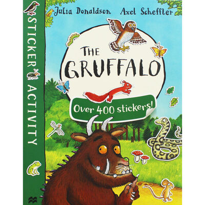 The Gruffalo Sticker Book image number 1