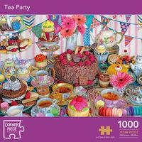 Tea Party 1000 Piece Jigsaw Puzzle